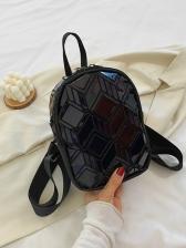 Fashion Plaid New Mini Backpack