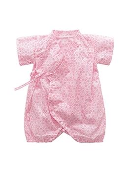 Summer Cotton Print Newborn Romper