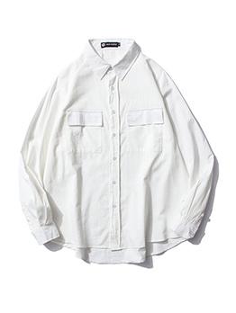 Bust Pockets Loose Oversize Shirt For Men