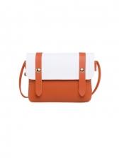 Contrast Color Messenger Mobile Phone Mini Bag