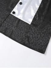 Trendy Leopard Print High Waisted Skirt