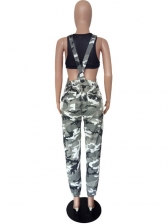 Camouflage Women Overalls