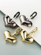 Korean Online Heart Earrings For Women