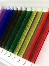 Wholesale Natural Colourful Grafted False Eyelash