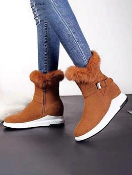 Winter Plush Warm Snow Boots