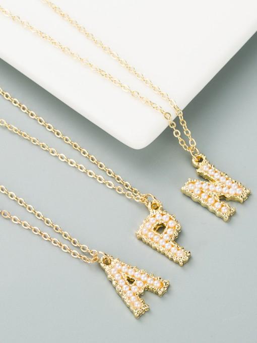 Korean Faux-Pearl Clothing Dress Versatile Necklace