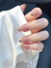 Contrast Color Beauty Ladies False Nail Patch