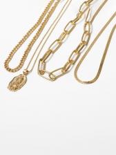 Vintage Solid Pendant Necklaces For Women