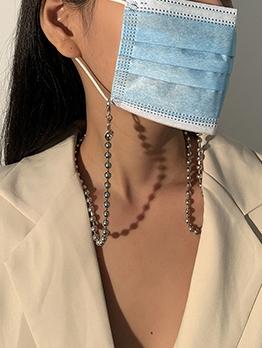 Fashion Simple Halter Mask Glasses Chain Accessories