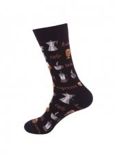 Hip Hop Trendy Lovers Autumn Mid-Calf Length Sock