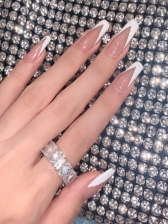 French Glue Style False Nail Patch
