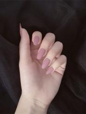 New Pink Scrub False Nail Patch