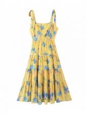 New Print Sleeveless Short Dress