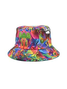Reversible Chic Printed Street Fisherman Hat
