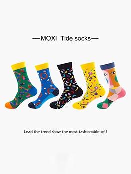 Spring Trendy Online Leisure Socks For Women
