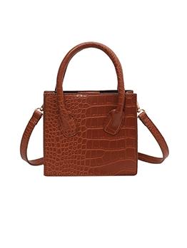 Vintage Solid AlligatorPrint Designer Bags