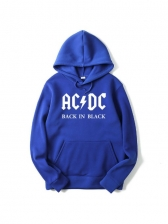 Casual AC/DC Letter Male Designer Hoodies