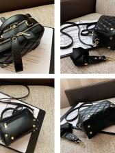 New Solid RhombusPlaid Designer Bags