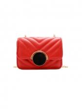 Korea Mini Patchwork Girls Shoulder Bag