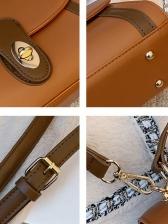 Vintage Patchwork Ladies Shoulder Bag