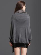 Tassel Winter Shawl Knitted Cardigan Coat