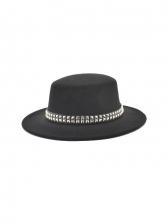 British Style Vintage Winter Fedora Hat