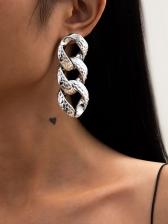 Stylish Geometry Design Earrings For Women