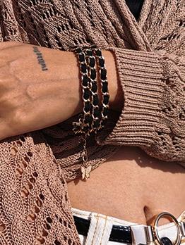 Create Winding Design Personality Bracelet