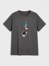 Cotton Print Funny T Shirts