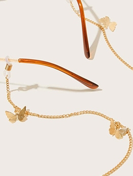 Personality Butterfly Glasses Chain Fashion