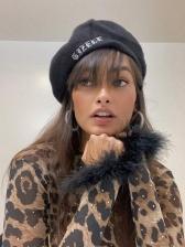 Fashion Leopard Print Long Sleeve T Shirts Women