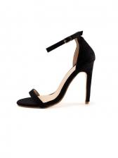 Euro Round Toe High Heel Ladies Sandal