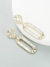 Latest Style Full Rhinestone Trendy Earrings
