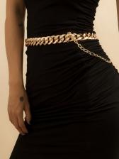 Simple Punk Versatile Dresses Waist Chain