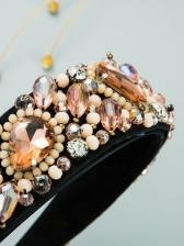 Latest Style Luxury Full Rhinestone Hair Hoop