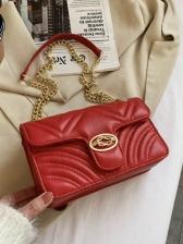 New Simple Chain Shoulder Bags Ladies