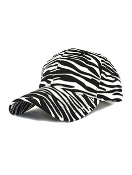 Zebra Print Fashion Easy Matching Baseball Cap