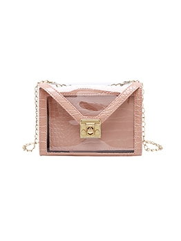 New Chain Mini Transparency Shoulder Bags