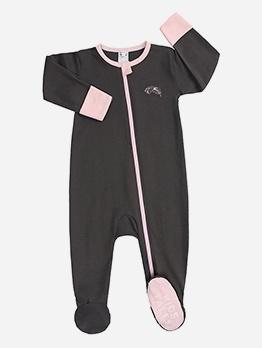 New Cotton Zipper Unisex Sleepsuits