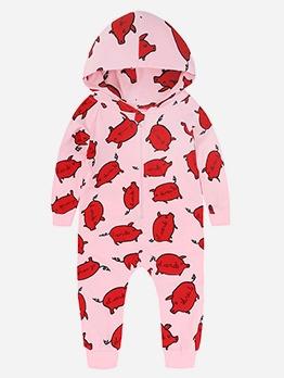 New Print Cute Newborn Sleepsuits