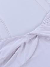 Sexy Twist Solid Color Cropped Cami