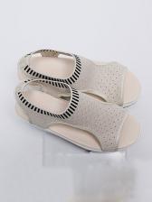 Hot Sale Slip On Height Increasing Sandals