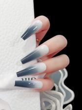 Matte Women False Nail Patch Ballet Nails