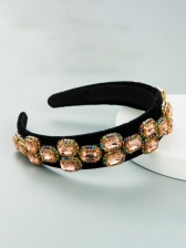 Vintage Royal Court Rhinestone Fashion Hair Hoop