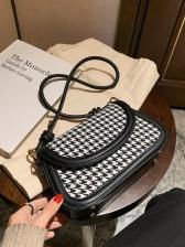 Retro Style Matt Crossbody Ladies Shoulder Bag