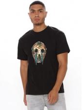 New Print Short Sleeve T Shirt