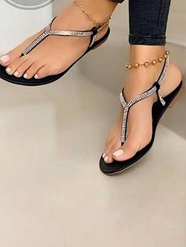 Beach Round Toe Flip Flop Ladies Sandal