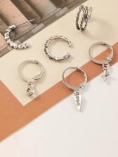 Particular Create Street C-Shape Earrings
