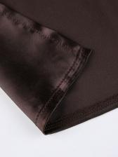 Sexy Deep V Halter Solid Camisole