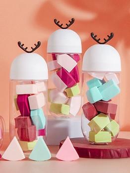 Soft Color Random Makeup Sponge Set